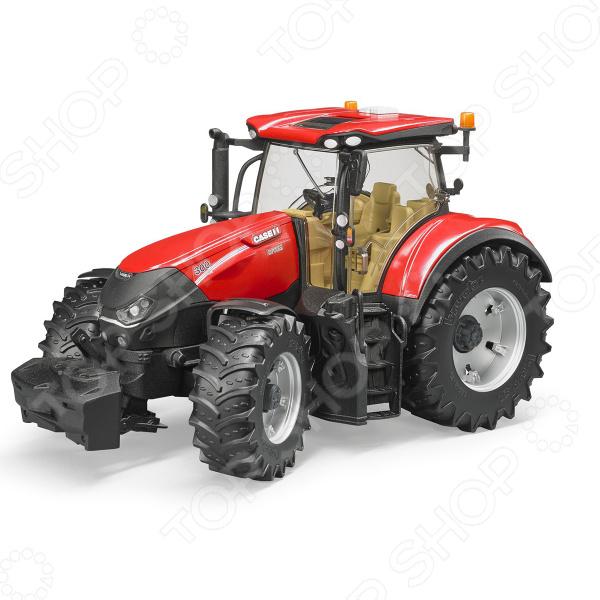 Трактор игрушечный Bruder Case IH Optum 300 CVX машины bruder трактор case ih optum 300 cvx с прицепом krampe tandem halfpipe 03 199