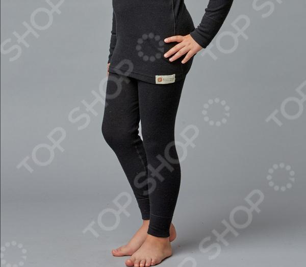 Леггинсы детские Milliner «Ангора» 1713332. Цвет: черный ангора одежда