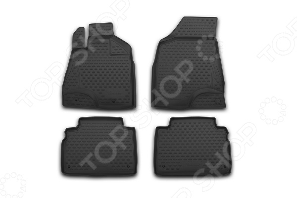Комплект ковриков в салон автомобиля Novline-Autofamily Ford Ranger 2011 - фото 10