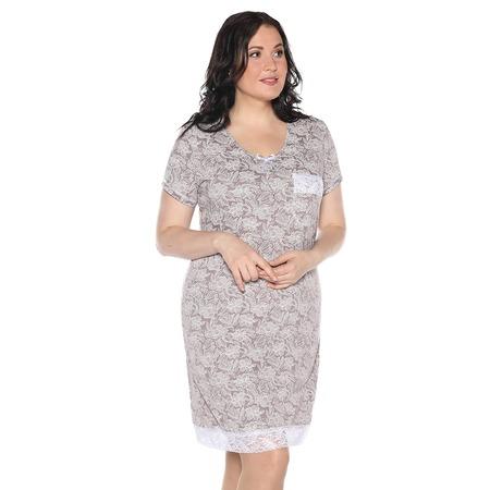 Купить Ночная сорочка El Fa Mei «Сказочный сон». Цвет: какао