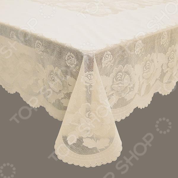 Скатерть TOWA Queen Rose сервировка стола