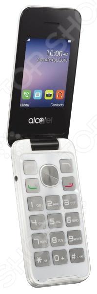 Мобильный телефон Alcatel OneTouch 2051D мобильный телефон alcatel onetouch 2051d metal silver