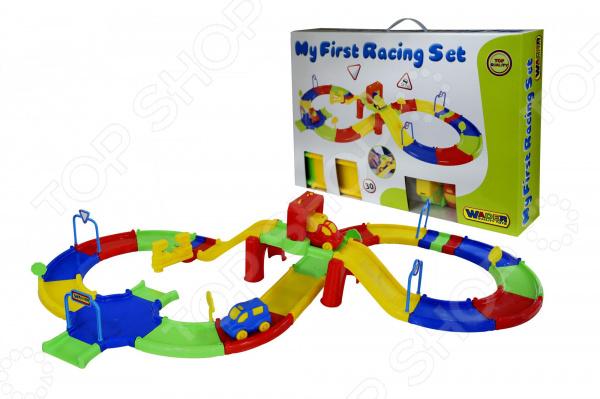 Трек гоночный Wader My First Racing Set 37589