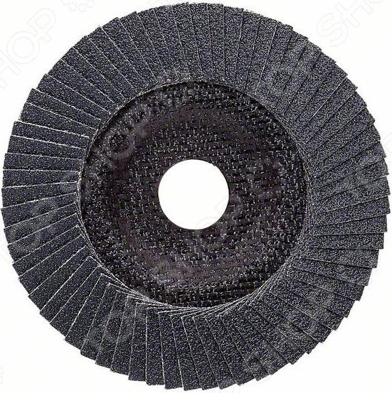 Круг лепестковый для угловых шлифмашин Bosch Best for Metal 2608607325 диск отрезной алмазный для угловых шлифмашин bosch best for ceramic