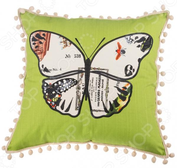 Подушка декоративная Santalino «Баттерфляй» 850-822-6 подушка декоративная santalino райский сад 850 818 6