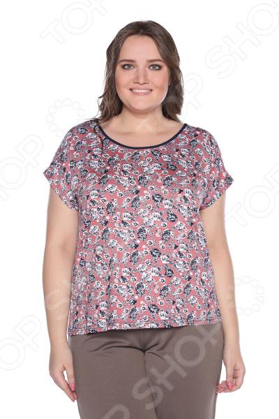 Блуза Лауме-Лайн «Маленькая роза». Цвет: розовый блуза лауме лайн перелетная птица цвет бордовый