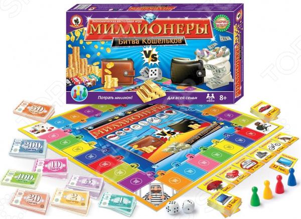 Игра настольная Русский стиль «Миллионеры. Битва кошельков»