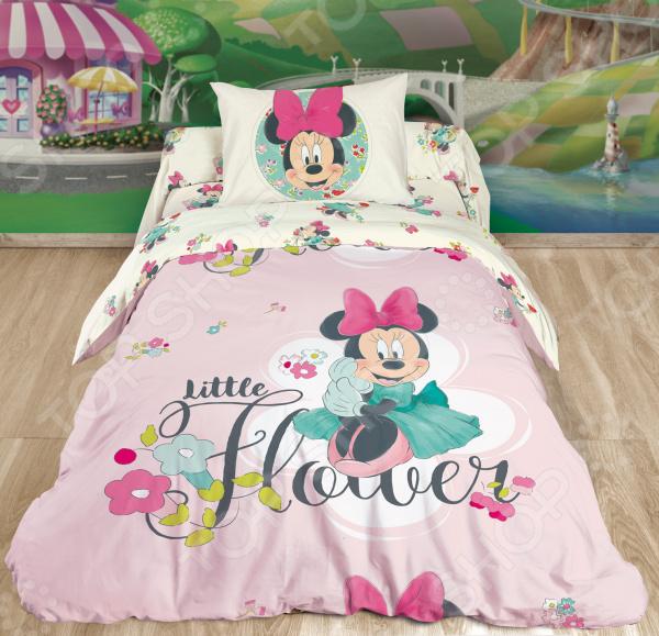 Детский комплект постельного белья Minnie Mouse. Little Flower