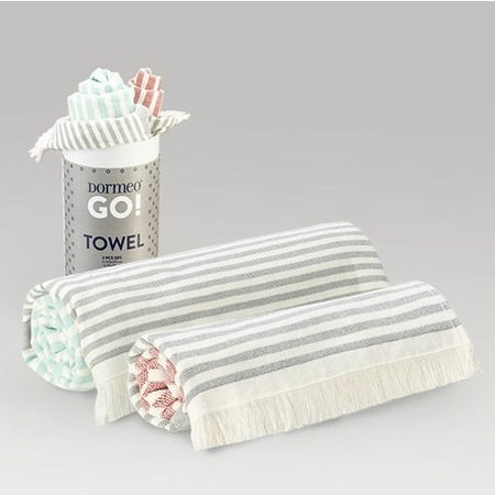 Купить Комплект быстросохнущих полотенец Dormeo «Нежность хлопка»