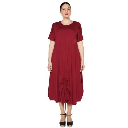 Купить Платье Kidonly «Романтичный день». Цвет: бордовый