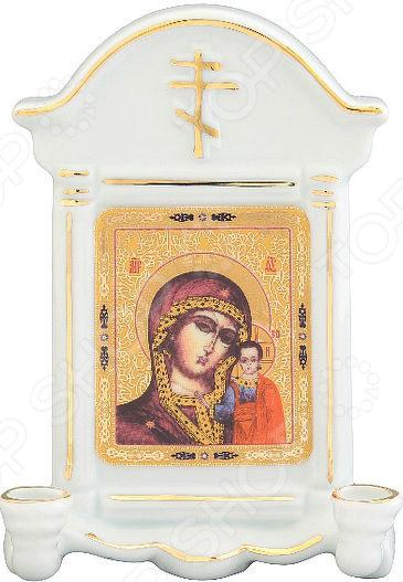 Икона с молитвой Elan Gallery «Казанская божья матерь» икона галерея благолепия икона богородицы казанская гранат 6 юл 04