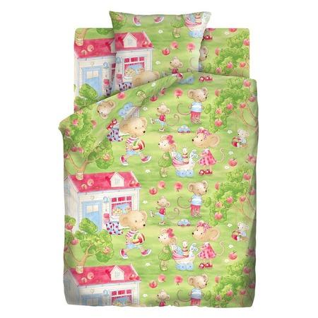 Купить Детский комплект постельного белья Непоседа «Мышкин дом»