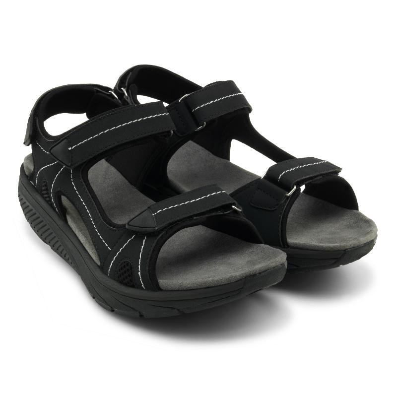 Дышащие cандалии мужские Walkmaxx Pure. Цвет: черный