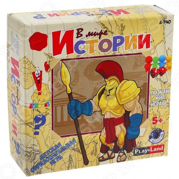 Игра настольная обучающая Play Land «В мире истории» play doh игровой набор магазинчик домашних питомцев