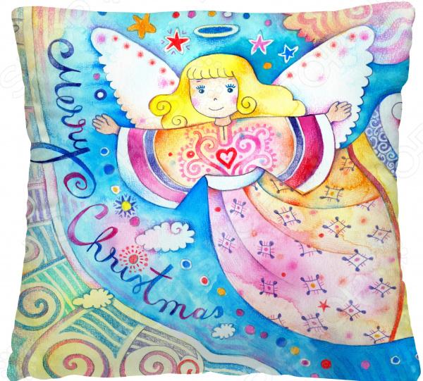 Подушка декоративная Волшебная ночь «Радужный ангел»