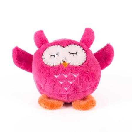 Купить Мягкая игрушка Button Blue «Мячик - Розовая сова»