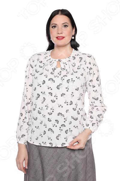Блуза Pretty Woman «Звездная искорка». Цвет: белый блуза incity цвет черный белый