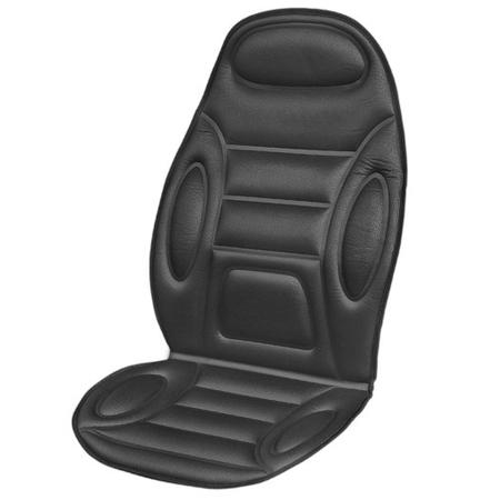Купить Накидка на сиденье с подогревом и терморегулятором SKYWAY «Полоски и овалы»