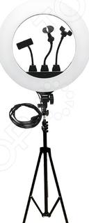 Набор: лампа светодиодная кольцевая и штатив ZB-R18 Ring Fill Light