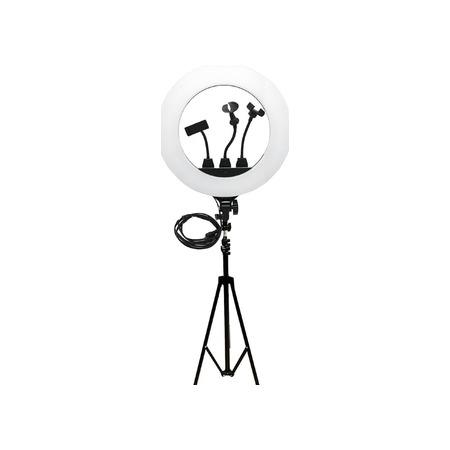 Купить Набор: лампа светодиодная кольцевая и штатив ZB-R18 Ring Fill Light