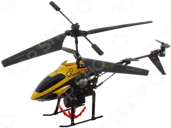 Вертолет на радиоуправлении ABtoys с гироскопом и корзинкой