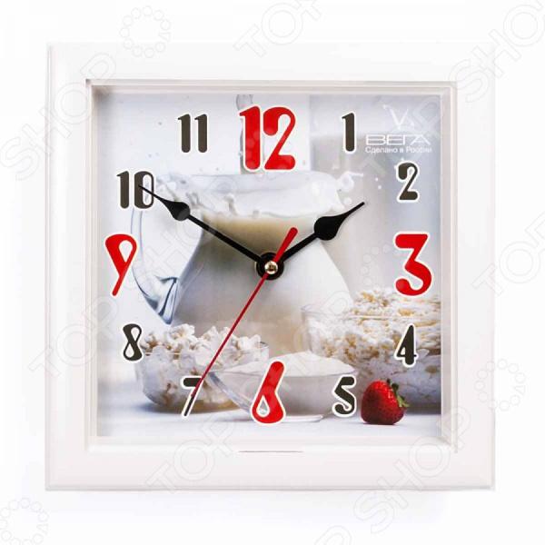 Часы настенные Вега П 3-7-109 «Кувшин с молоком»