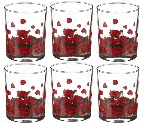 Набор стаканов «Розарий» набор для сока розарий
