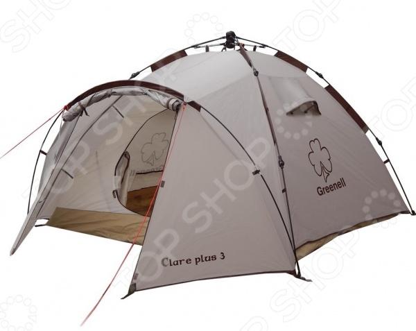 Палатка с автоматическим каркасом NOVA TOUR «Клер плюс 3»