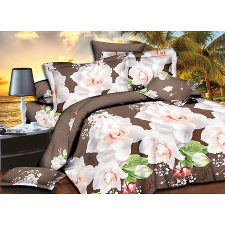 Купить Комплект постельного белья Pandora «Чайная роза». 1,5-спальный