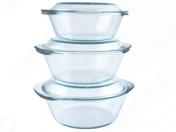Набор кастрюль Helpina НКТЛ 4 kitchenaid kblr04nsac набор из 4 керамических кастрюль для запекания cream