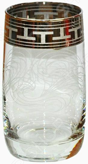 Набор стаканов Гусь Хрустальный «Греческий Узор» выпуклых набор бокалов для бренди гусь хрустальный греческий узор 400 мл 6 шт