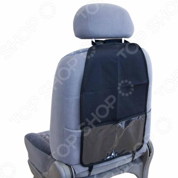 Накидка-органайзер для спинки сиденья SKYWAY с карманом сиденья водительское для ваз 2112