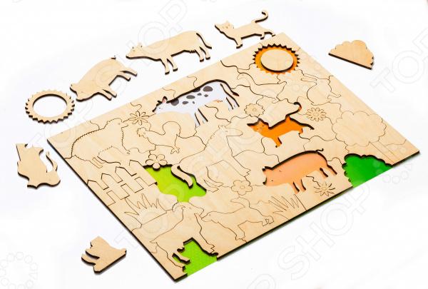 Пазл деревянный Bradex «Домашние животные»