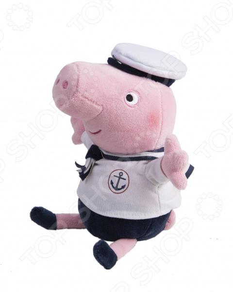 Zakazat.ru: Мягкая игрушка со звуком Peppa Pig «Джордж-моряк»