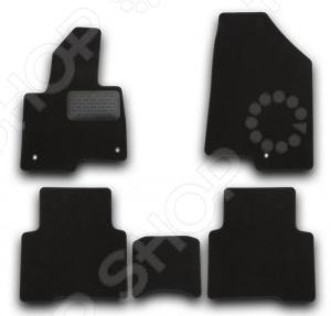 Комплект ковриков в салон автомобиля Novline-Autofamily Hyundai Grand Santa Fe 2013