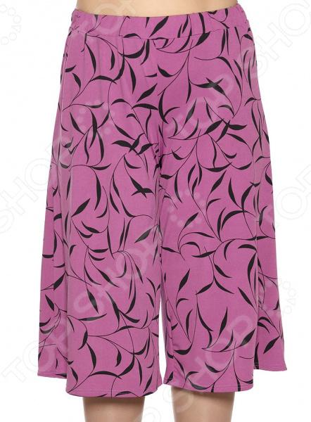 Юбка-шорты Лауме-Лайн «Солнечный отпуск». Цвет: фиолетовый