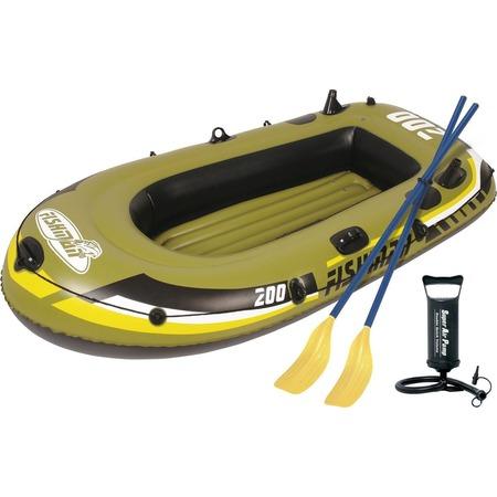 Купить Лодка надувная Jilong Fishman 200 Set