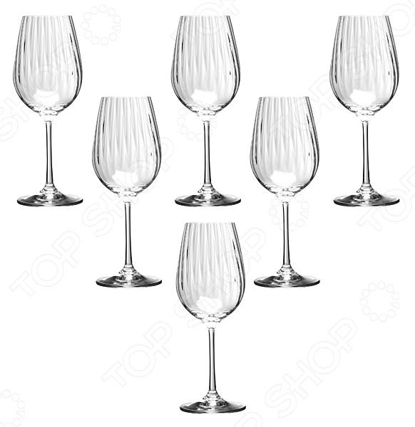 Набор бокалов для вина Bohemia Crystal Waterfall набор бокалов для бренди коралл 40600 q8105 400 анжела