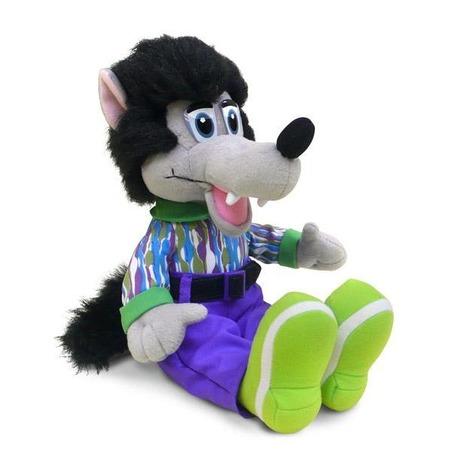 Купить Мягкая игрушка со звуком Bradex «Волк-модник»