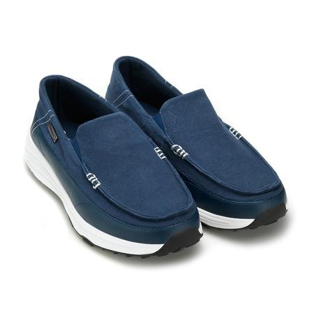 Лоферы парусиновые Walkmaxx. Цвет: синий