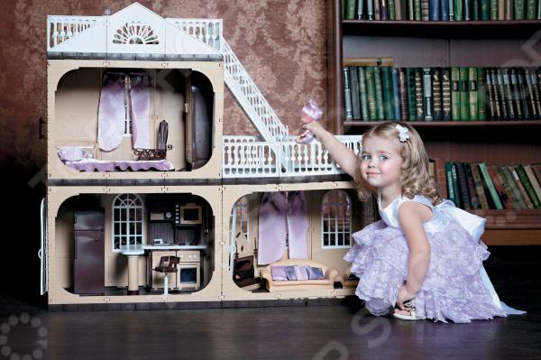 Кукольный дом с аксессуарами Огонек «Коллекция» С-1292