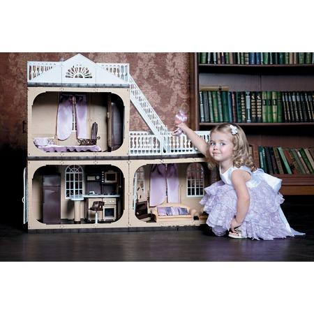 Купить Кукольный дом с аксессуарами Огонек «Коллекция» С-1292