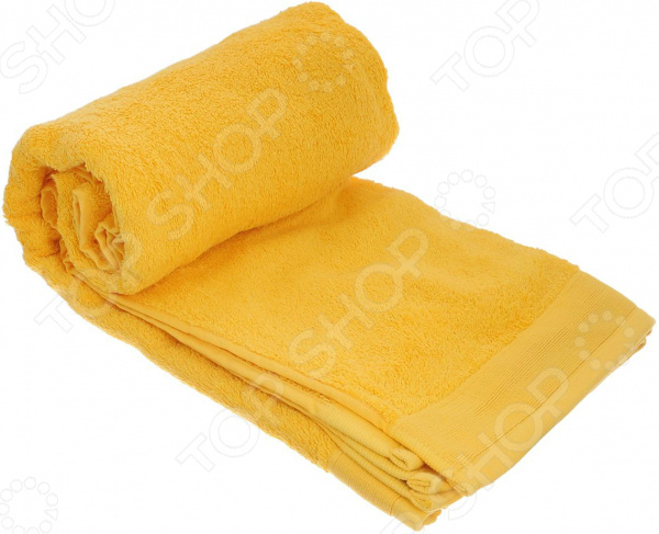 Полотенце махровое Guten Morgen. Цвет: желтый