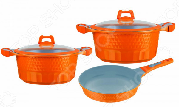Набор посуды Winner WR-1302 сковорода с крышкой winner wr 6161