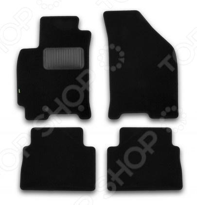 Комплект ковриков в салон автомобиля Klever Daewoo Gentra 2013 Standard