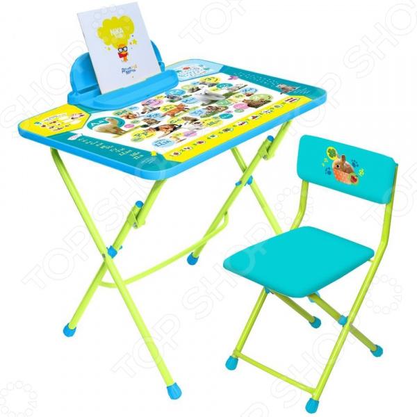 Набор мебели детский: стол и стул Ника «Пушистая азбука»