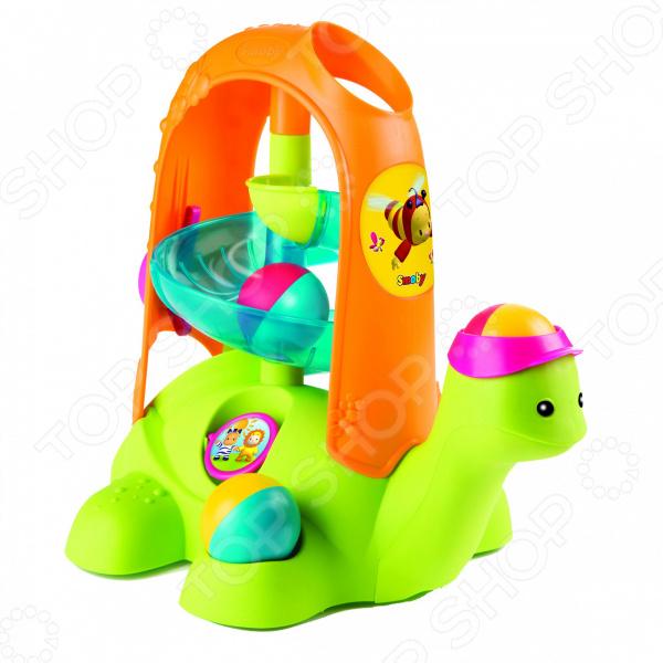 Игрушка-сортер развивающая Cotoons «Черепашка с шариками» музыкальная игрушка в виде черепашки с кубиками черепашка умняшка с кубиками