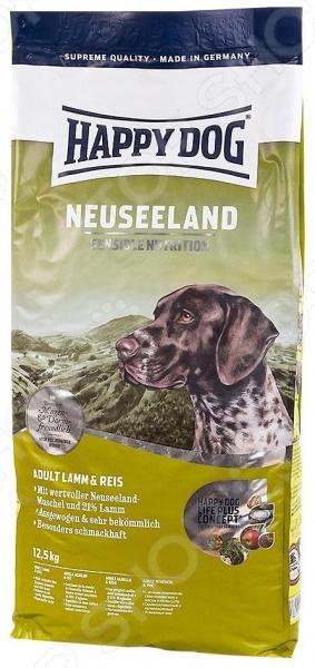 Корм сухой для собак Happy Dog Supreme Neuseeland сухой корм happy dog supreme sensible adult 11kg neuseeland lamb
