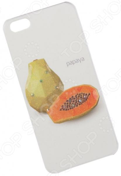 Чехол для iPhone 5/5S/SE Macuus «Папайя»