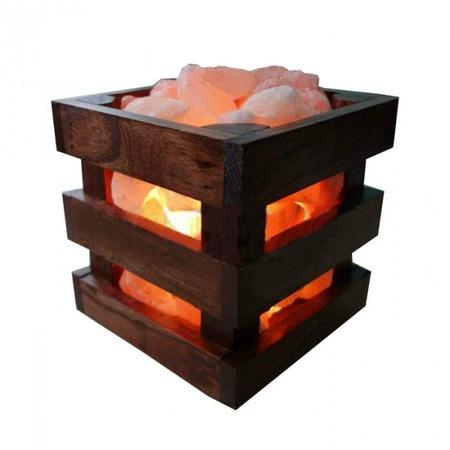 Купить Лампа солевая Wonder Life Wood